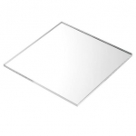 Acrylic Sheet 10 x 12.5 cm Thickness 2 mm