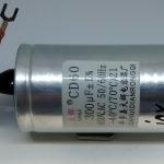 คาปาซิเตอร์ 300uf-450v 300uf450v capacitor 300uf/450v