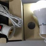 หลอดไฟอัจฉริยะ LED 10W + ตัวแขวน + ชุดสายไฟ