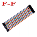 Jumper (F2F) cable wire 40pcs 2.54mm 20cm Female to Female