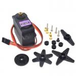 เซอร์โวมอเตอร์ MG996R พร้อมกับอุปกรณ์เสริม