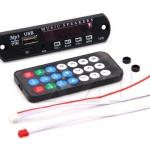 MP3 Decoder Board 5V หน้ากากสีดำ