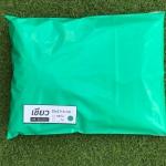 แพค 100 ใบ ซองไปรษณีย์พลาสติก สีเขียวมิ้นท์ ขนาด 25x31+4 cm เกรด A (ขนาดเท่าA4)