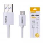 สายชาร์จ Samsung Remax USB Data Cable สีขาว