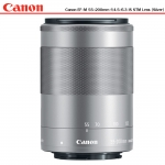 Canon EF-M 55-200mm f/4.5-6.3 IS STM Lens (Silver)