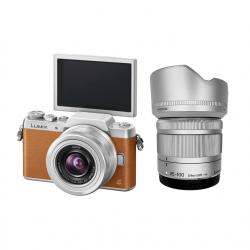 Panasonic GF8 + Lens 12-32 mm OIS + Lens 35-100 mm OIS (Brown)