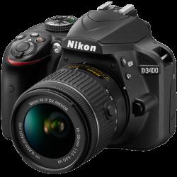 Nikon D3400 Lens AF-P 18-55 VR