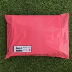 แพค 100 ใบ ซองไปรษณีย์พลาสติก สีชมพูโอรส ขนาด 28x38+4 cm เกรด A