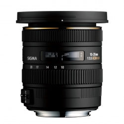 SIGMA 10-20mm F3.5 EX DC HSM For Canon