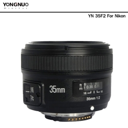 Yongnuo 35mm F2 (For Nikon)