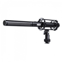 Boya BY-PVM-1000L Professional Condenser Shotgun Microphone Specifications
