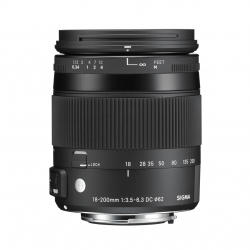 Sigma 18-200mm F3.5-6.3 DC Macro OS HSM | C For Canon