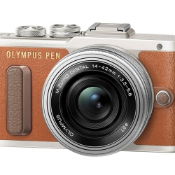 Olympus EPL8 + Lens 14-42 Kit (Brown)