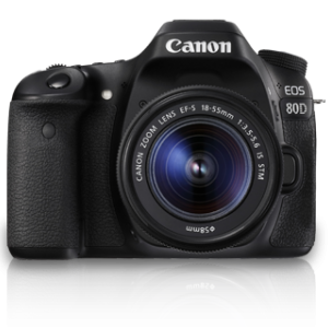Canon EOS 80D + Lens 18-55mm IS STM