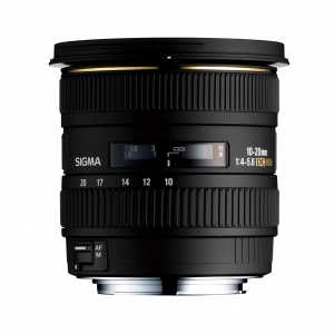 SIGMA 10-20 mm F4-5.6 EX DC HSM For Canon