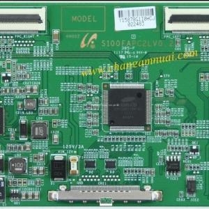 S100FAPC2LV0.2 S100FAPC2LV0.3 T-CON SAMSUNG