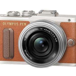 Olympus EPL8 + Lens 14-42 Kit (Brown)