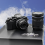 Olympus OM-D E-M10 Mark II Lens 14-42 mm + 40-150 mm (Black) thumbnail 2