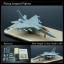 4D Model โมเดลเครื่องบินรบ รุ่น JH7