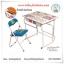 โต๊ะเขียนหนังสือเด็ก โต๊ะนักเรียนเด็กอนุบาล - R146 - เก้าอี้พับเก็บได้ โต๊ะแบบมีลิ้นชัก - สีฟ้า - ราคาคุ้มค่า thumbnail 1