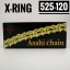 โซ่พระอาทิตย์ X-RING 525-120DL มีกิ๊ปล็อค และหมุดย้ำ thumbnail 1
