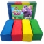 Clay 4 Colors 454 g. Red, Yellow, Blue, Green