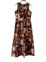 ชุดวินเทจ Maxi Dress Hawaiian
