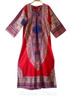 ชุดวินเทจ Dress Dashiki ( Made In Pakistan )