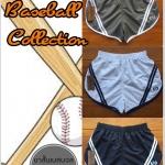 กางเกงขาสั้นผ้าร่ม รุ่นเบสบอล