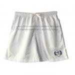 SALE กางเกงผ้าคัตตอล รุ่นเชือก M สีขาว
