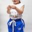 กางเกงขายาวเด็ก ผ้าร่ม รุ่นแถบ อายุ 1-4 ขวบ ไซส์ M,L,XL thumbnail 3