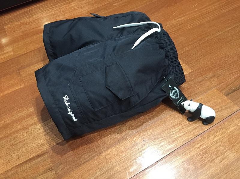 กางเกงขาสั้น รุ่น 6 กระเป๋า ผ้าคัตตอล