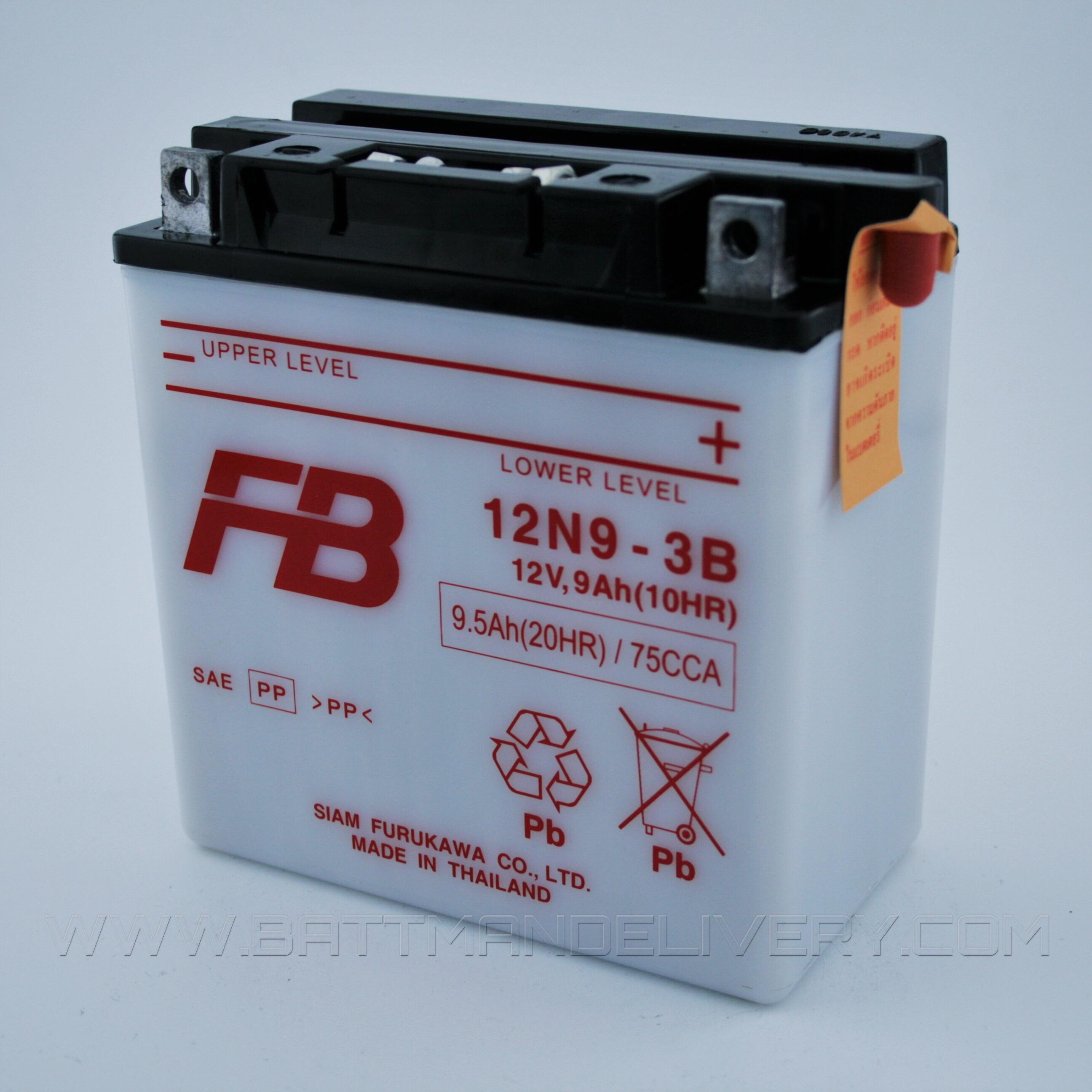 Batterie 12 v 9ah fb9l-a2
