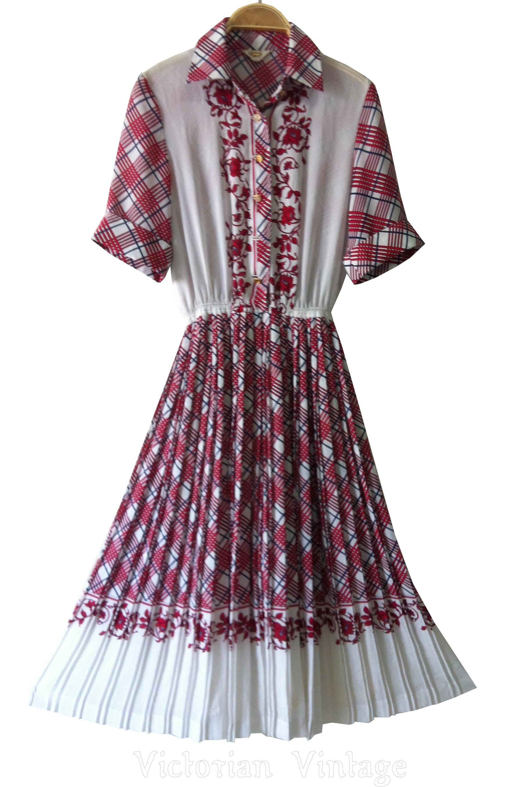 เดรสวินเทจ ลายเชิง งานญี่ปุ่น Vintage Dresses BRAND : ROCO