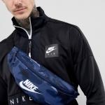 Nike Heritage Bumbag In Navy CAMO