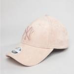 หมวก NEW ERA 9Forty Cap Yankees สีชมพู ผ้าหนังกลับ
