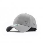 หมวก NEW ERA 9Forty Cap NY สีเทา มุมเหล็ก Free Size