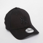 หมวก NEW ERA 39Thirty Cap NY สีดำ โลโก้ดำ