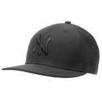 หมวก New Era 9Fifty NY Snapback Cap Black Dimond Black Logo