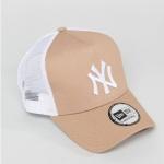 หมวก NEW ERA Trucker Cap NY สีน้ำตาล