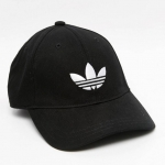 adidas Originals Trefoil Cap In Black