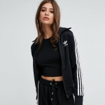 adidas Originals Firebird 3 Stripe Track Jacket Black