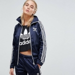 Adidas Originals Europa Track Top In Navy