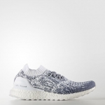 ULTRA BOOST UNCAGED SHOES Color Non Dyed/Footwear White/Collegiate Navy