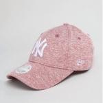 หมวก NEW ERA 9Forty Women Cap NY สีชมพู เจอร์ซี่ โลโก้ขาว