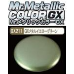 GX-211 Mr.metalic GX yellow green 18ml