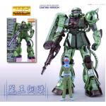 1/100 MG 20th MS-06F/J ZAKU II Metallic Coating Version