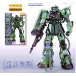 1/100 MG 20th MS-06F/J ZAKU II Metallic Coating Version