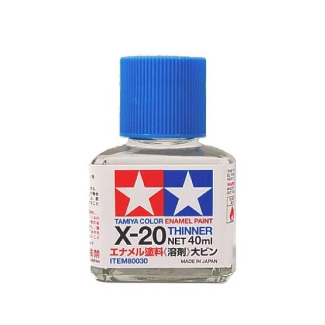 TAMIYA 80030 ACRYLIC X-20 ENAMEL THINNER 40ML