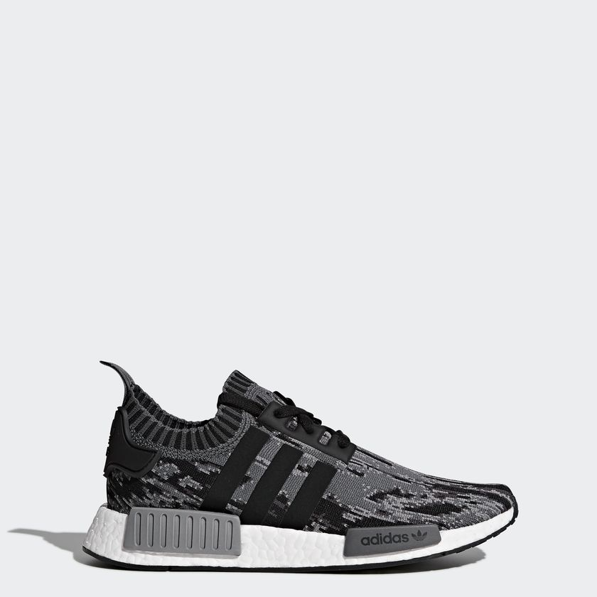 Adidas Originals NMD R1 PK Color Core Black/Core Black/Grey Three